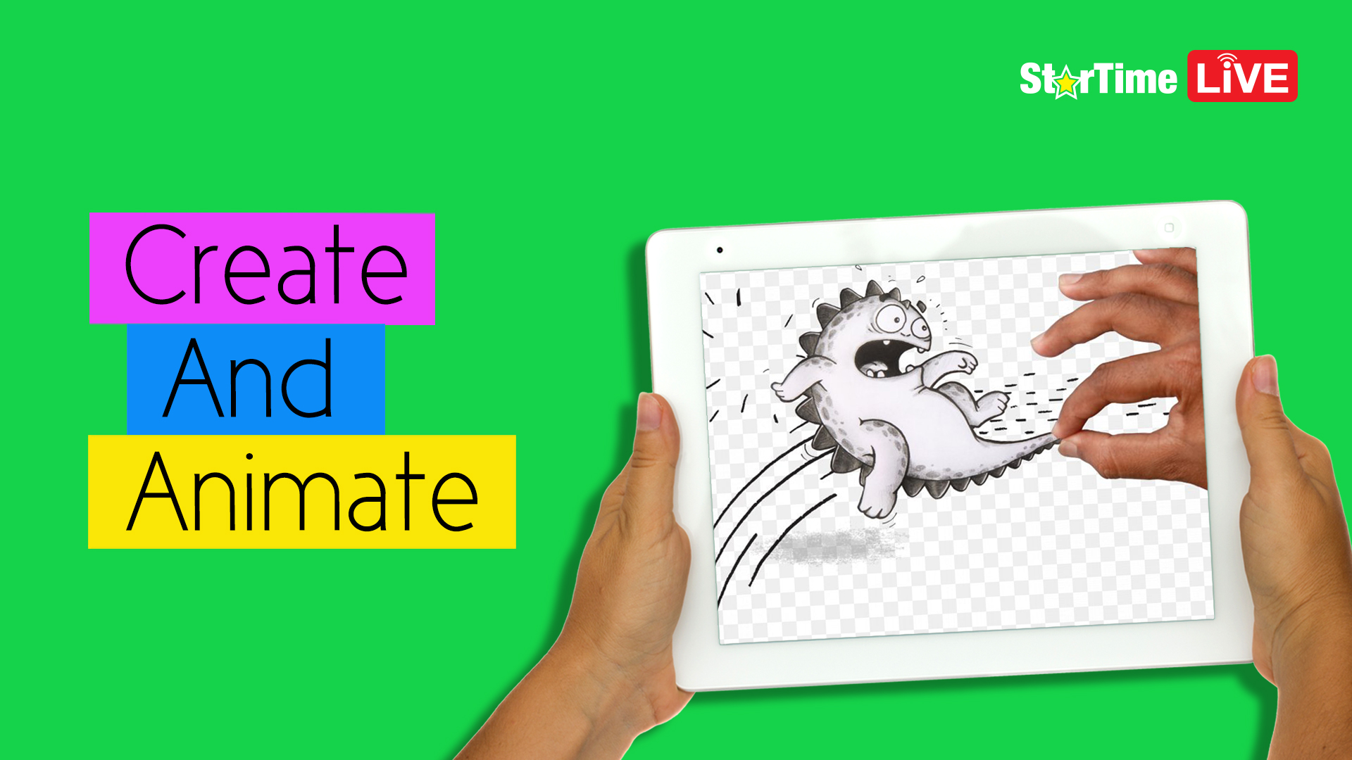 Create and Animate your own cartoon character